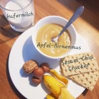 Apfelmus_Cracker_Nüsse