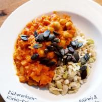 Kichererbsen-Kürbis-Kokos-Curry_Reis